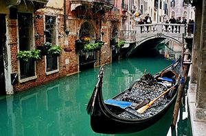 Veneza - gondola